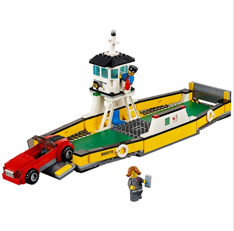 LEPIN 60119 CITY Ferry Boat Ship Building Blocks Bricks Educational Toys For Children Christmas Gifts 02045 bryan ferry let