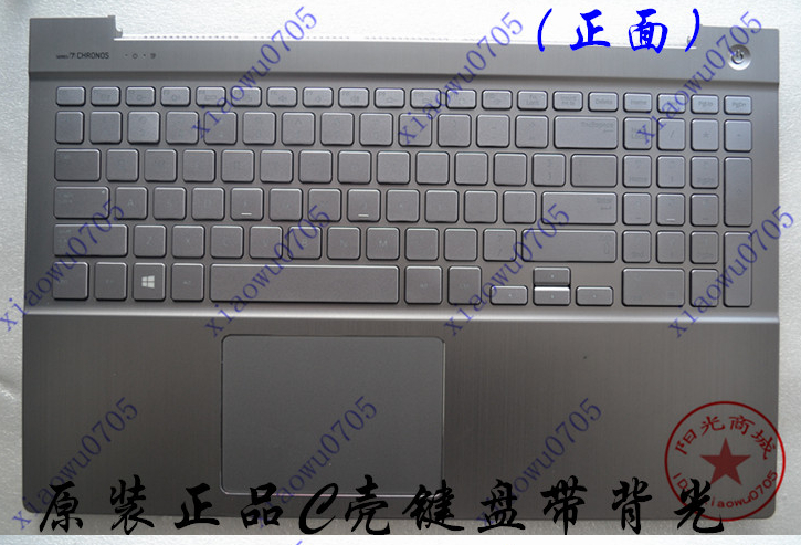 US backlit New laptop keyboard with touchpad plamrest  for samsung NP 770Z5E 780Z5E 880Z5E 870Z5E   sliver цена и фото