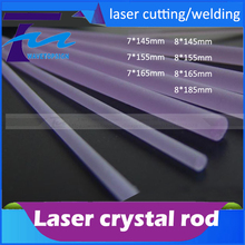 laser welding machine   crystal rod  laser cutting machine crystal rod size  7*145  8*145 8*185  7*165