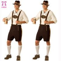 Hot Oktoberfest Costume Lederhosen Bavarian Octoberfest German Festival Beer Halloween Costumes And Mens Cosplay