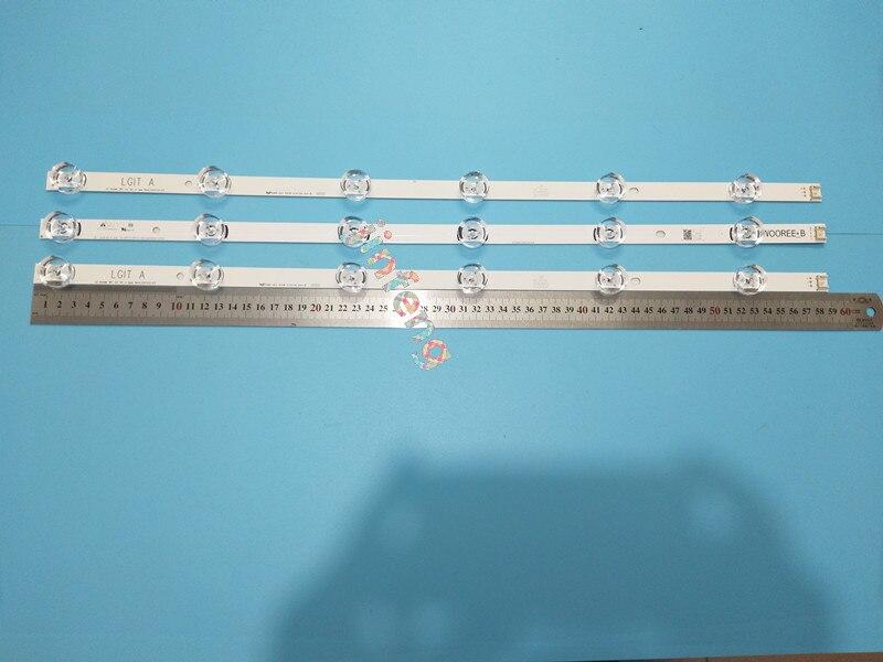 Romantic 3x Led Tv Backlight For Lg Innotek Drt 3.0 32_a/b 6916l-1974a 1975a 32mb25vq Lv320due 32lf5800 Sung Wei 55vo E74739 59cm 6 Leds Computer & Office