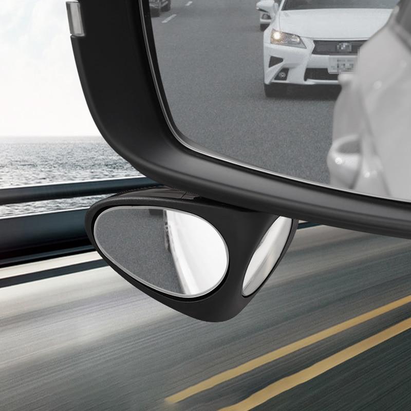 Lsrtw2017 Car Rearview Helper Round Mirror Blind Area for Skoda Kodiaq