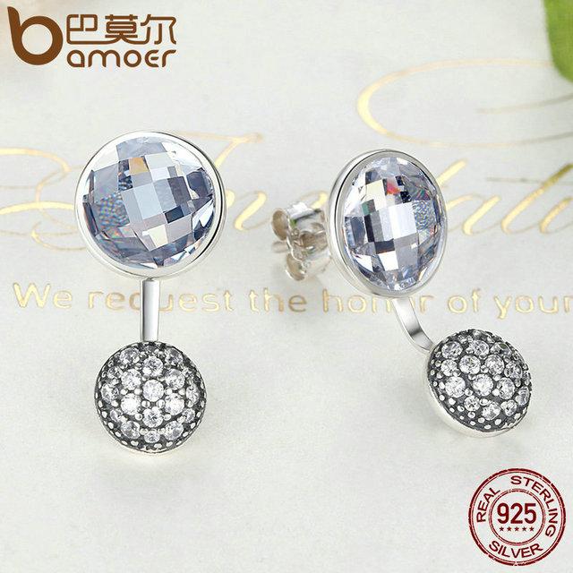 Sterling Silver Dazzling Poetic Droplets Earrings
