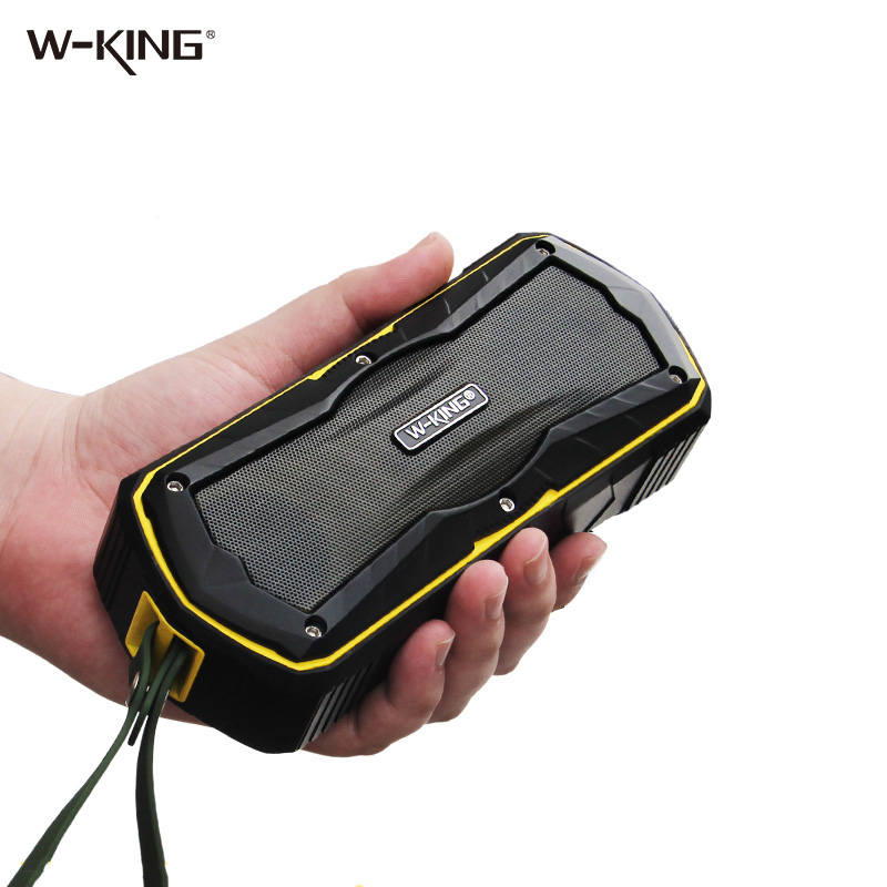 W-king Speakers Wireless Bluetooth Speaker Portable Outdoor Waterproof with Radio for Bicycles 6W shower Bluetooth Speakers