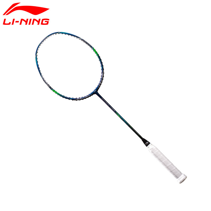 Li-Ning AERONAUT 8000D Professional Badminton Rackets LiNing Single Racket AYPM034(AYPN214) ZYF170 li ning professional badminton rackets carbon offensive type brazil 2016 single racket aypl102 zyf113