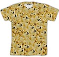 Hot Fashion Doge Akitas Couples Tee Women Men T-shirt Unisex Tee 3D Short Sleeve Tops Casual Shirt T shirt