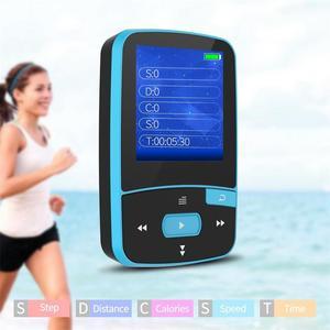 Image 5 - Reproductor de música Mp3 con Clip deportivo, 16gb con Bluetooth para correr, reproductor de música portátil sin pérdidas, tarjeta TF ampliable hasta 64GB