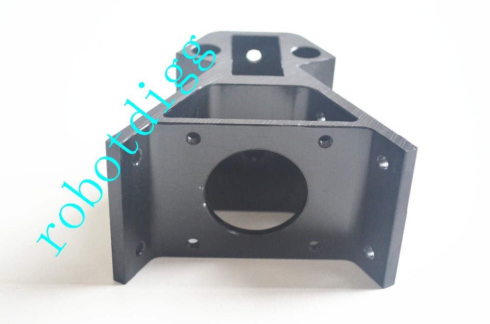 Alu Vertex for Kossel XXL/Black 2040 metal corner for kossel for NEMA 23-600 /NEMA23 delat 2040 Metal Corner цена и фото