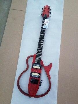Livraison gratuite nouveau Big John fine guitare électrique dans naturel peut facile prendre pour voyager