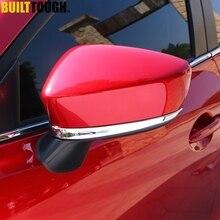 Для Mazda 3 BM Axela хромированная дверная боковая зеркальная Накладка заднего вида декоративная Накладка для автомобиля Стайлинг 2 шт
