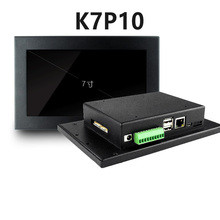 7 pulgadas industrial pantalla táctil integrada de la máquina industrial de control HMI integrado RS232 + RS485