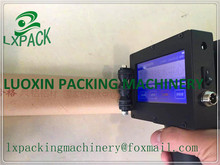 LX PACK Lowest Factory Price 360 degree Portable Marking Machine handheld batch code printer hand jet