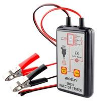 Allsun EM276 Car Fuel Injector Tester For Gasoline Car Auto Diagnostic Repair Tools Fuel Pressure Checker Auto Tools car tester
