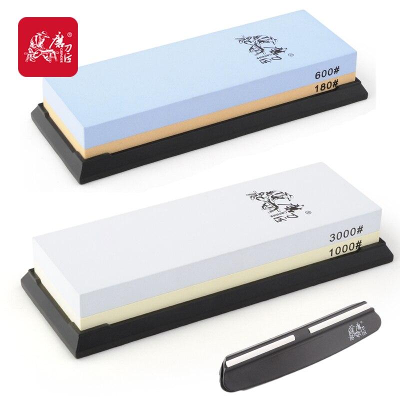 TAIDEA 600#/180# and 3000#/1000# Knife Sharpeners Corundum Sharpening Stones oil stone pack whetstone system taidea