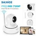 SANNCE 720P IP камера 6 ИК-светодиодов ночного видения с ИК-фильтром для помещений 1MP Беспроводная CCTV камера наблюдения детский монитор