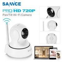 SANNCE 720P IP Kamera 6 IR leds nachtsicht mit IR Cut filter indoor 1MP Drahtlose CCTV Überwachung kamera baby monitor-in Überwachungskameras aus Sicherheit und Schutz bei