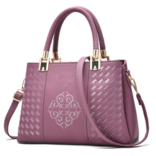 SUONAYI new 2017 style stamp one shoulder bags women handbag leather handbags messenger