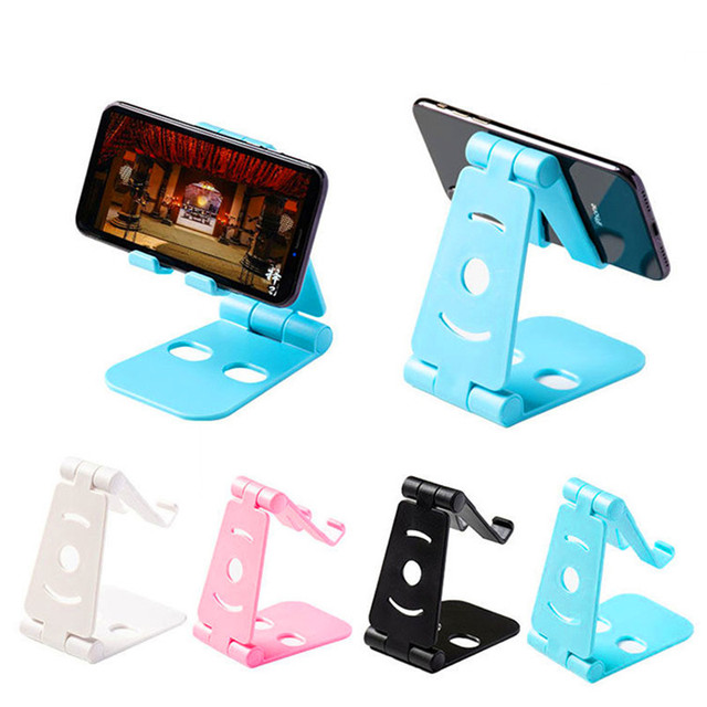 Foldable Swivel Phone Stand Multi Colors Epacket Shipping for Small & Big Phones WORKS WITH ANY TYPE OF PHONE 1