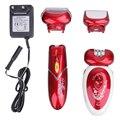 Kemei КМ-3048 Multi 4 в 1 Профессиональный Перезаряжаемый Бритвы Эпиляция Устройство Для Лица Подмышек Ноги Линии Бикини (ЕС Plug)