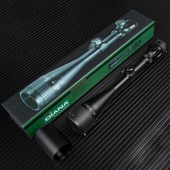 DIANA AOE 4.5-18X50 tüfek ayarlanabilir yeşil kırmızı nokta çapraz Sight avcılık kapsam ışık Reticle optik taktik kapsamları