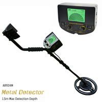 Rechargeable AR924 Underground Metal Detector For Gold Digger Treasure Hunter Industrial Metal Detectors
