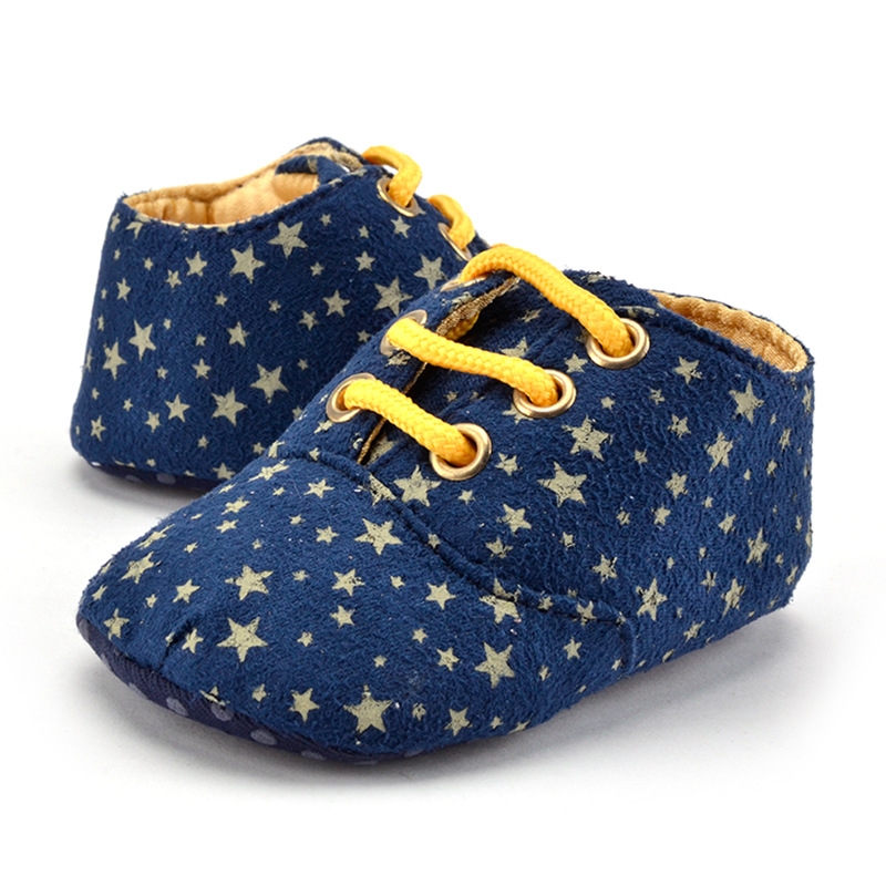 New First Walkers Solid Soft Sole Cotton Fabric Shoes Boys Girls Kids Toddler Moccasin Sole Shoe Soft Non Slip Bottom Sneaker