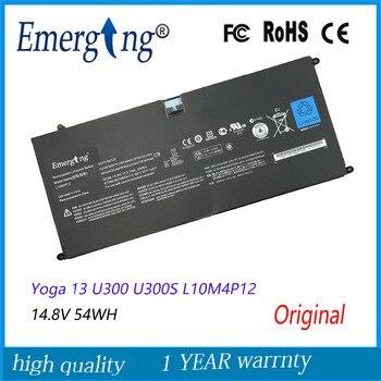 14.8V 54Wh New  Original  Laptop Battery for Lenovo LENOVO IdeaPad Yoga 13 U300 U300S L10M4P12
