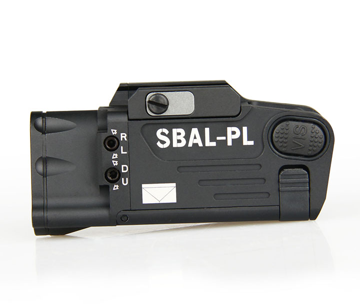 Tactical CNC Finished SBAL-PL Weapon light Constant & Strobe Light With Red Laser Pistol Rifle Flashlight Free Shipping