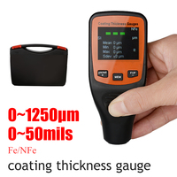 CCT01 Car Paint Meter Thickness Gauge 50mil 0 1250um Auto Coating Thickness Gauges of Paint and Varnish Film Coating for Car