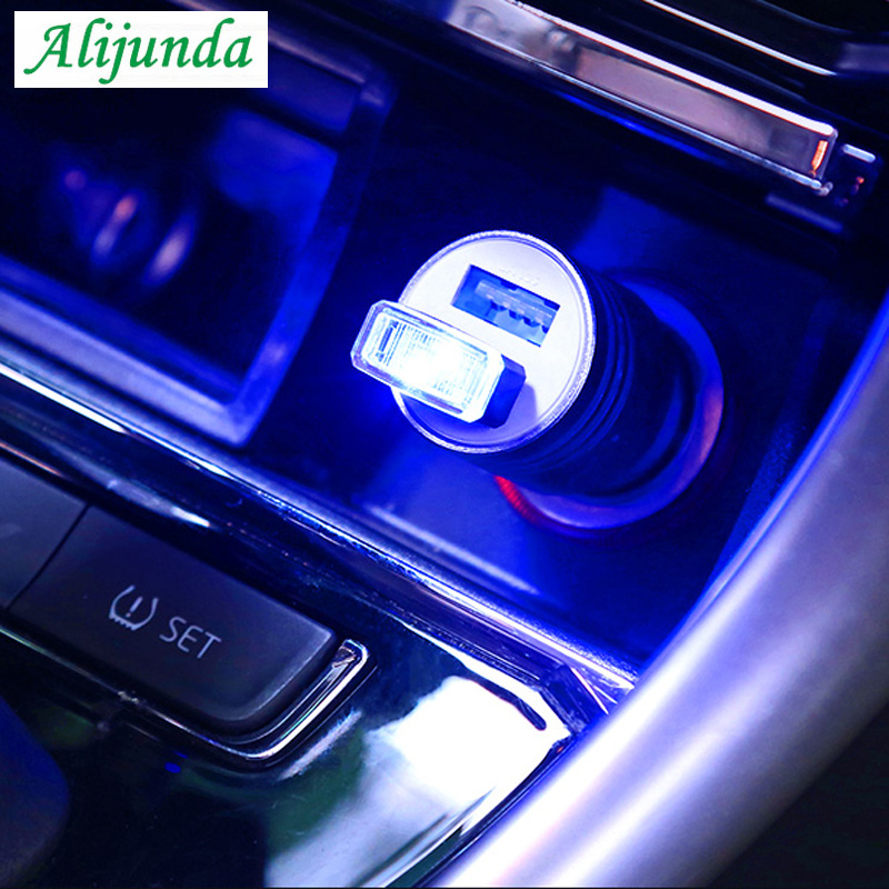 2PCS Car Atmosphere LED foot replacement Light color For Porsche Cayenne Macan