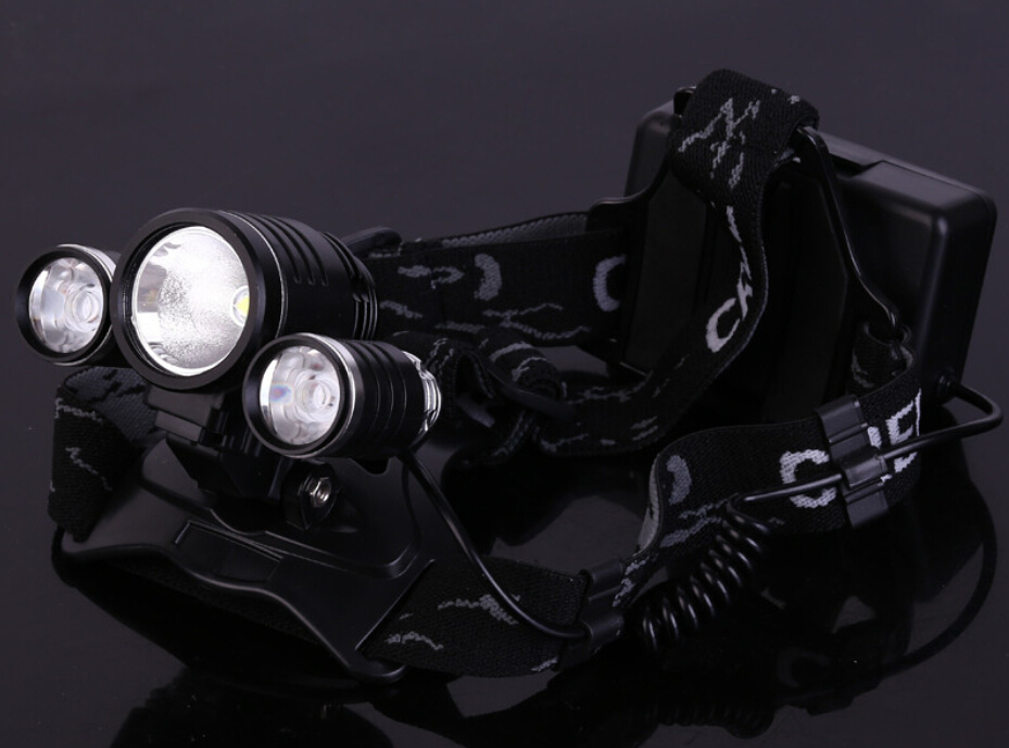 2000 Lm CREE XM-T6 DEL Zoom Headlight Lampe Rechargeable Tête Lampe chargeur