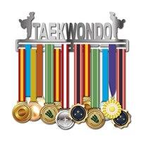 DDJOPH вешалка для таэквондо Спортивная стойка для медалей держатель для медалей 32 + медали