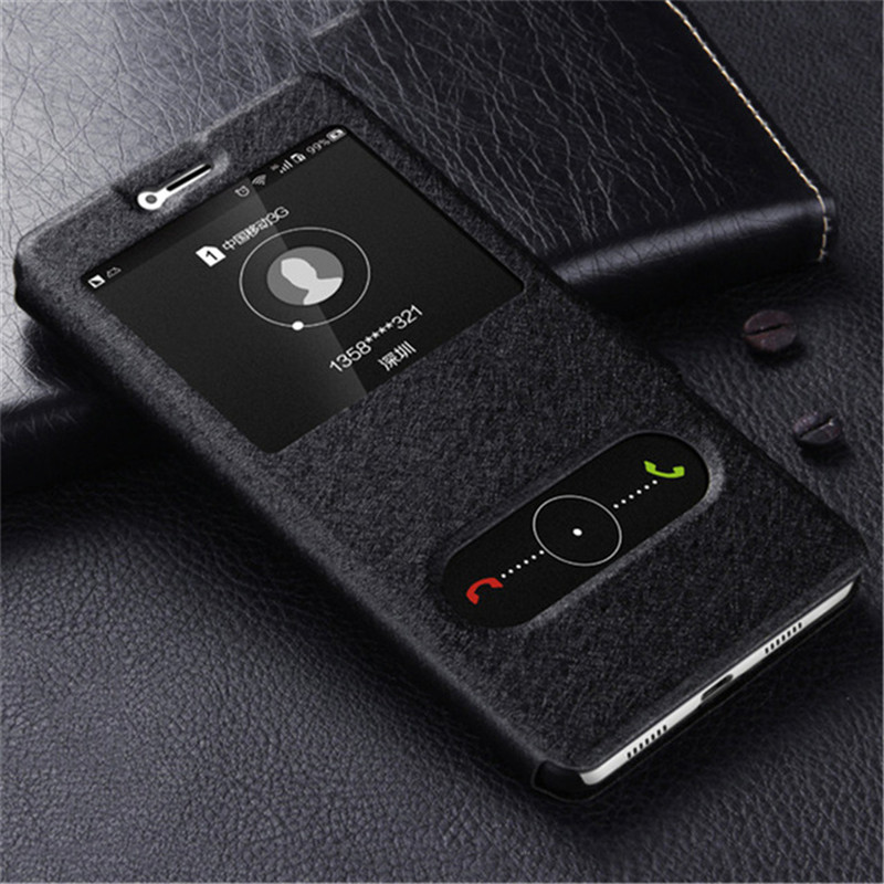 Original Brand PU Leather Cover for Huawei Honor 6C Pro Case Luxury Holder Stand Case for Honor 6C Case PC Flip Kickstand Bag