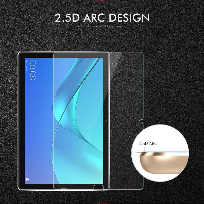 Soaptree Tempered Glass For Huawei MediaPad M5 8 4 Lite 10 1 10 8 Tablet Screen Protectors Flim in Tablet Screen Protectors from Computer Office