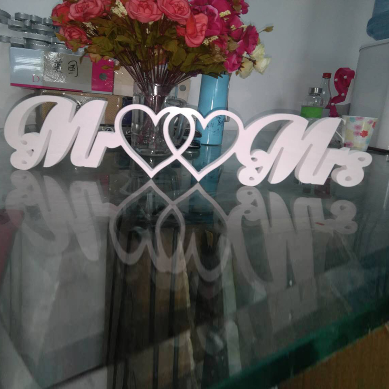 mr mrs ready made white wooden letters large wedding photo prop table decorchina