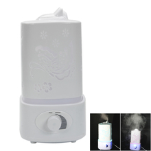 110V 1.5L Diffuser Supersonic Wave Mini Night Light Humidifier Fragrance Diffuser Cool Mist for home office 28W US plug 28w