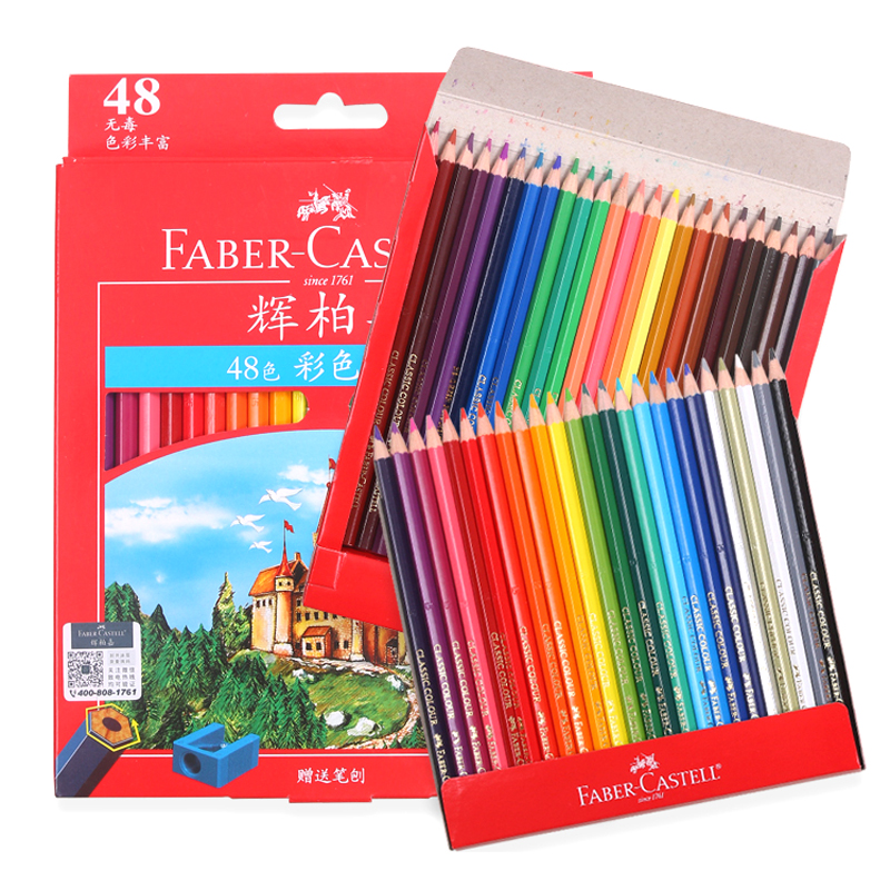 Professional 36 48 72 Colored Pencils Set Painting Oily Color Pencil Set For Drawing Sketch Painting Art Supplies