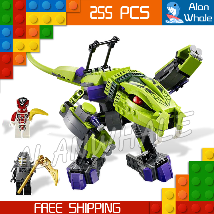 255pcs 2016 9755 Ninja Fangpyre Mech Building Blocks sets Educational Bricks Feng-Suei Kids Toys Compatible With lego kazi 608pcs pirates armada flagship building blocks brinquedos caribbean warship sets the black pearl compatible with bricks