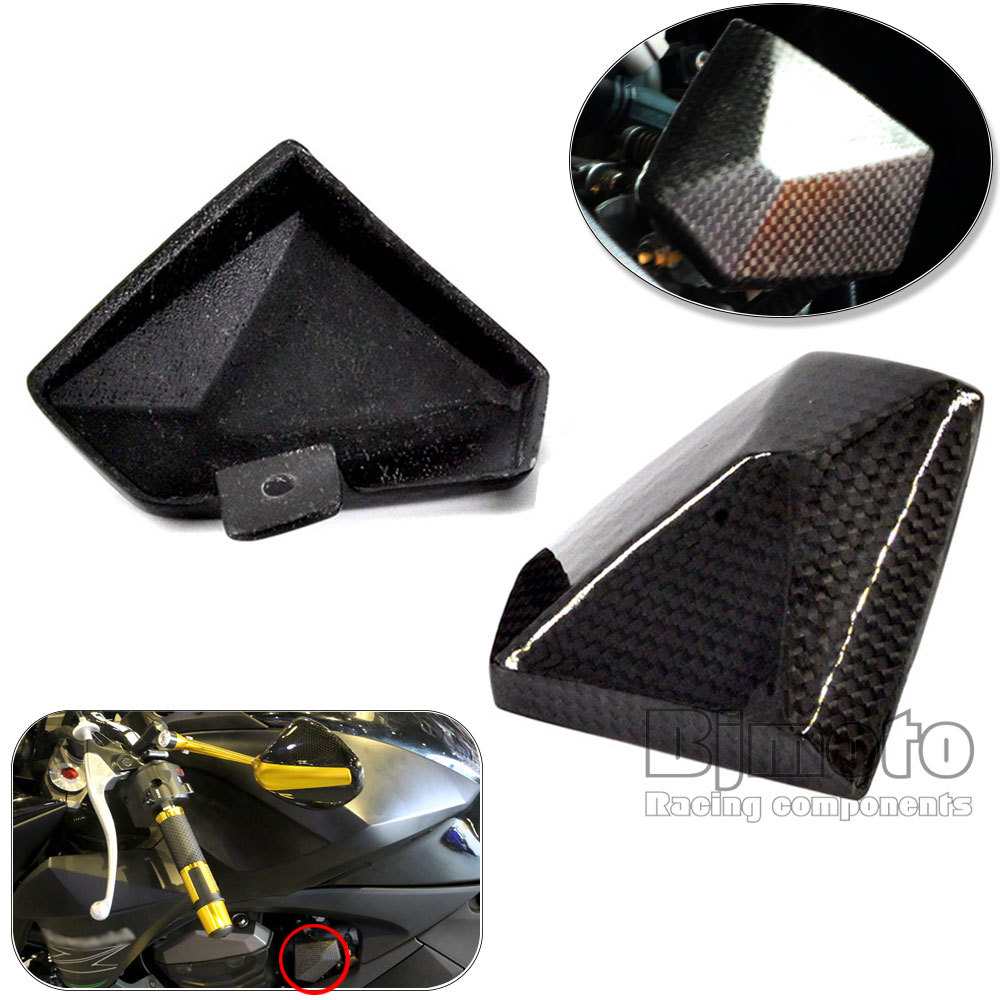BJMOTO Motorcycle Carbon Fiber Cover Guard For Carburator Kawasaki Z800 2013 2014 2015 2016 bjmoto motorcycle carbon fiber cover guard for carburator kawasaki z800 2013 2014 2015 2016
