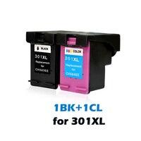2020 novo para HP 301 Cartuchos de Tinta Compatíveis para HP 301 301XL para hp Deskjet 1000 1050 2000 2050 2050s 2510 3000 3054 3510 D1010