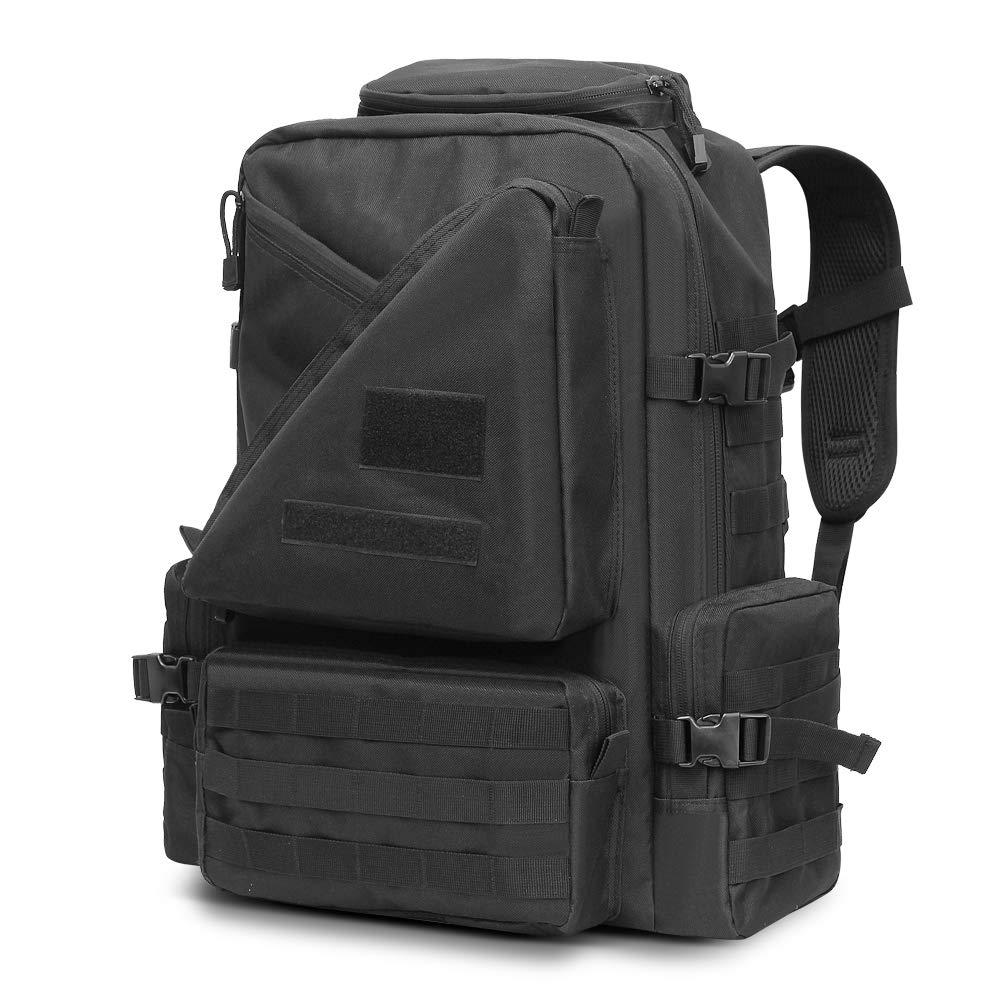 45L militaire tactique assaut Pack sac à dos Molle imperméable à l'eau sac à dos résistant pour voyage en plein air randonnée Camping chasse