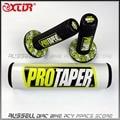 MX Dirt bike Cross Bar Protector Round Pad Bars & Pro Taper Handle Grips