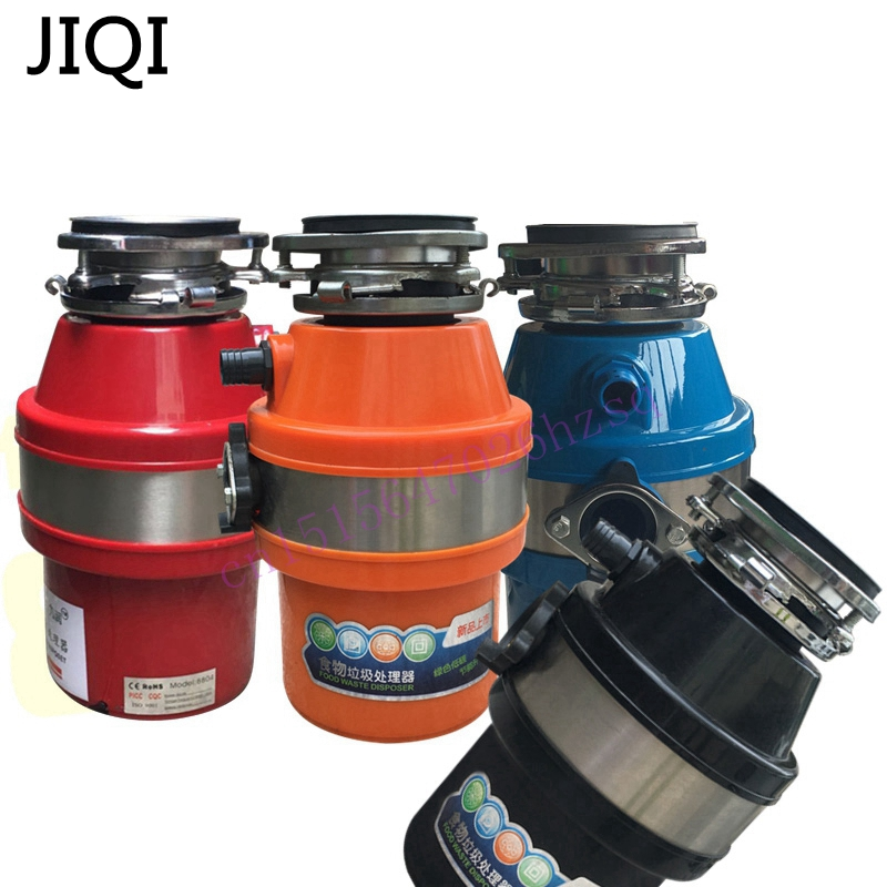 JIQI 1400mL 370W Food waste disposer Household mute kitchen garbage grinder Food residue disposer Garbage processor