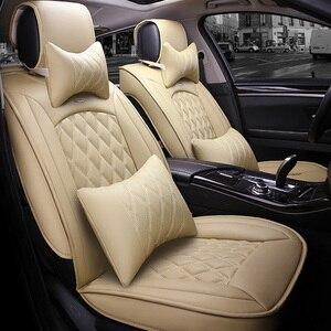 Image 4 - Универсальный чехол для автомобильных сидений для toyota corolla camry avensis rav4 chr land cruiser prado премио, защита для всех моделей автомобильных сидений