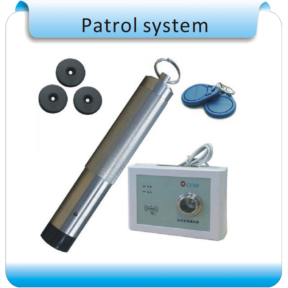 OCOM-PA1602 Electronic Cruise/better/electronic Patrolling System Security Patrol Rods/complete Set Equipment+10pcs Point