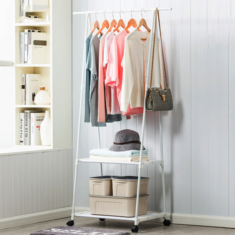 Fashion Home Living Room Storage Art Furniture Handbag Clothing Display Hanger Hat Rack Stainless Steel Multi-purpose Coat Racks