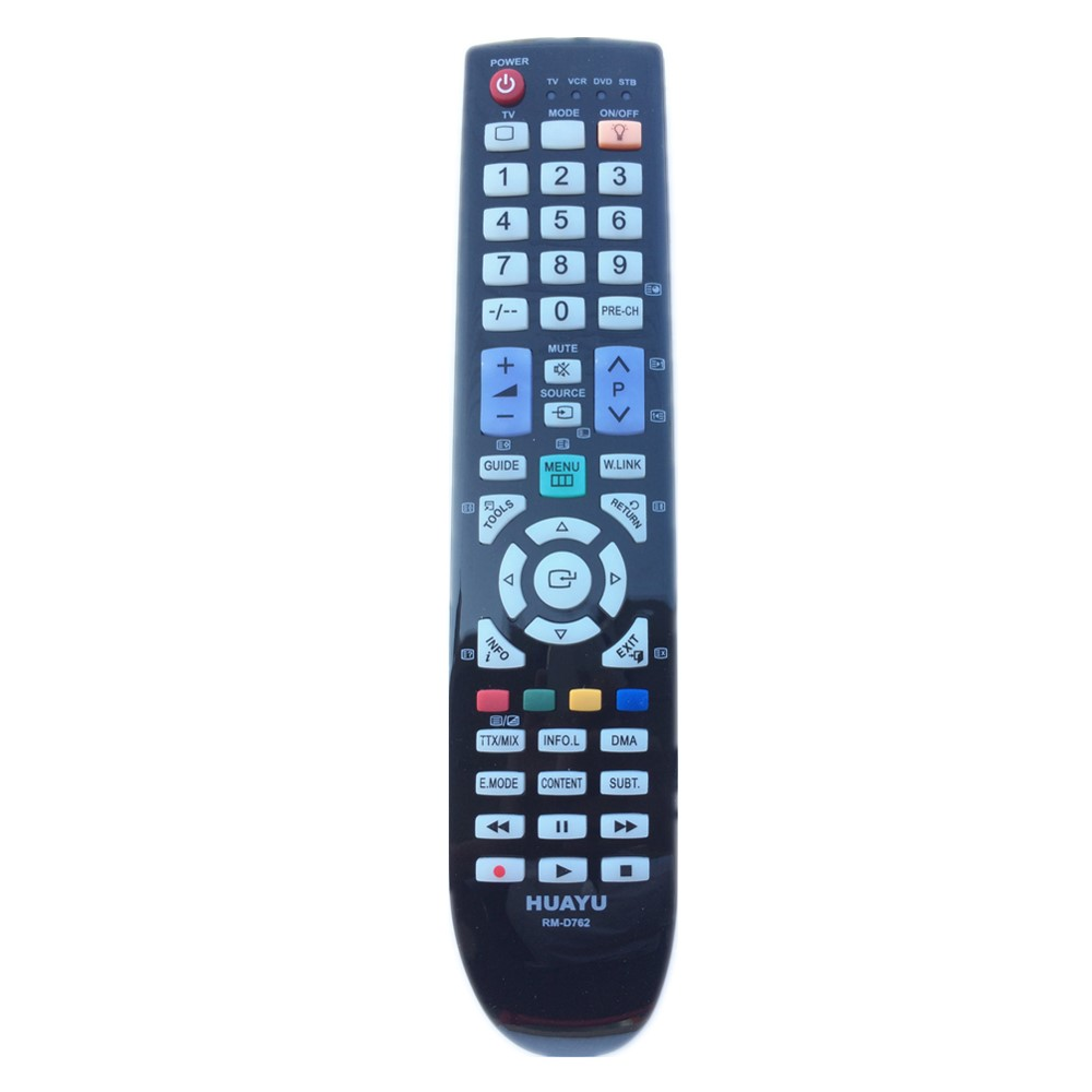 RM-D762 For Samsung TV/VCR/DVD/STB Universal LCD LED PLASMA TV Remote Control BN59-00863A BN5900901A BN59-00861A BN59-00937A chunghop rm l7 multifunctional learning remote control silver