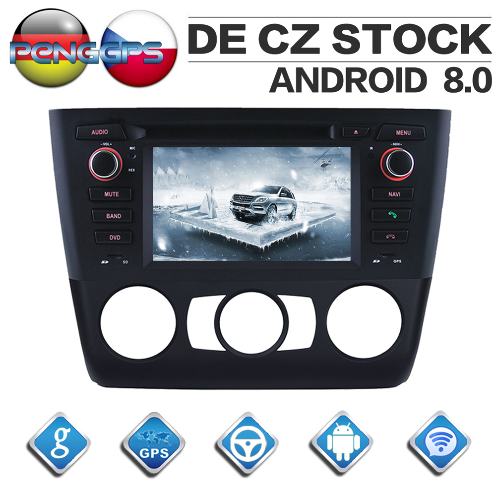 Octa Core CD DVD Player 2 Din Stereo Android 8 0 Car Radio for BMW E81