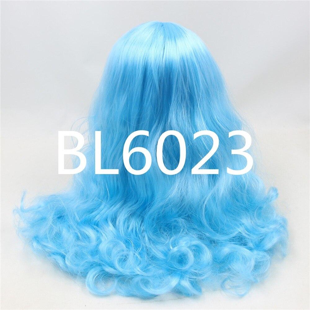 Neo Blythe Doll Blue Hair with Takara RBL Scalp Dome 1