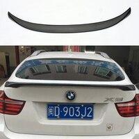 X6 E71 M Performance Style FRP Primer Auto Car Rear Trunk Spoiler Wing for BMW X6 E71 2008 2013